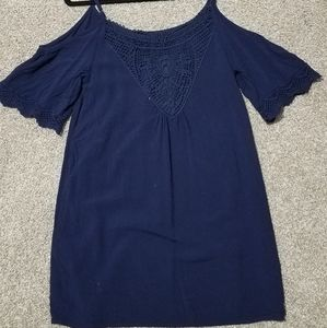 Navy sundress size small